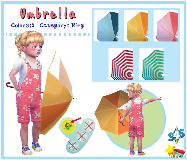 Umbrella (Toddler) at A luckyday image 11014 Sims 4 Updates