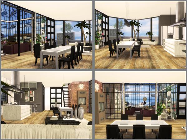 Skyscraper house by Danuta720 at TSR image 1106 Sims 4 Updates