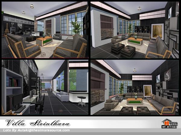 Villa Sirinthara by autaki at TSR image 11100 Sims 4 Updates