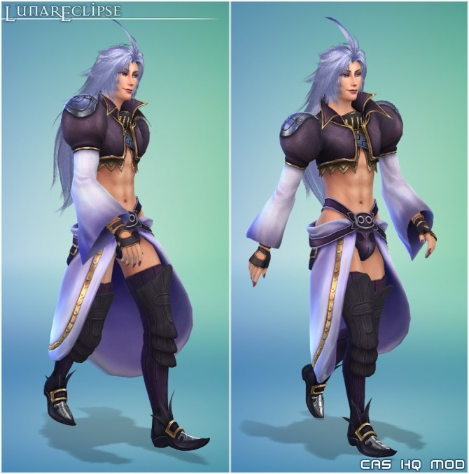 Sims 4 Full Sim Final Fantasy IX Kuja at Lunar Eclipse