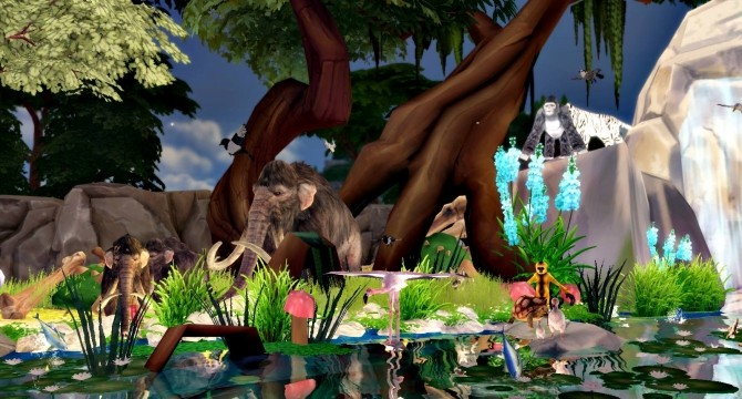 Pre Historic Natural Park at Lily Sims image 1126 670x360 Sims 4 Updates