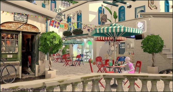 Santorini Cafe at Tanitas8 Sims image 1133 670x357 Sims 4 Updates
