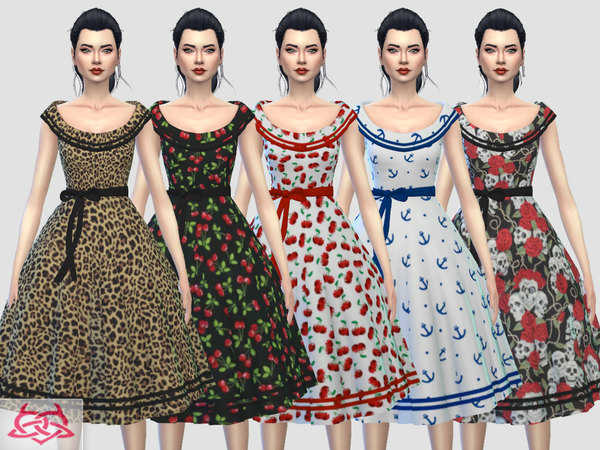 Romi dress RECOLOR 7 by Colores Urbanos at TSR image 1144 Sims 4 Updates