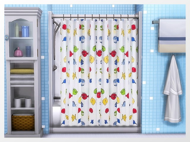 Xtreme Shower curtains by Oldbox at All 4 Sims image 1148 Sims 4 Updates