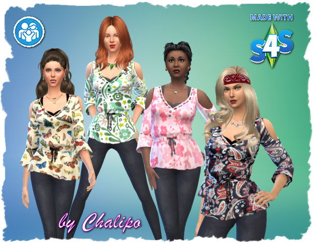 Eltern Shirt 1 4 by Chalipo at All 4 Sims image 1156 Sims 4 Updates