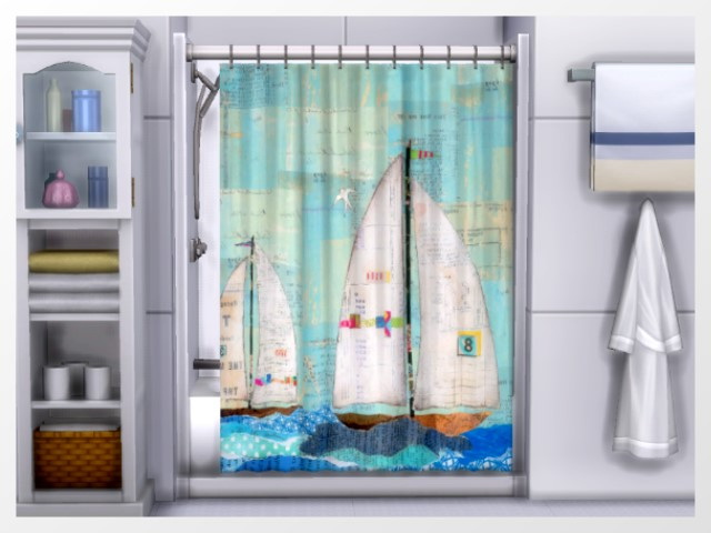Xtreme Shower curtains by Oldbox at All 4 Sims image 1158 Sims 4 Updates