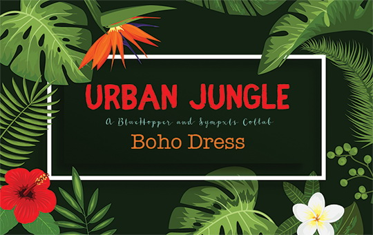 Urban Jungle Boho Dress Recolor by Sympxls at SimsWorkshop image 11614 Sims 4 Updates