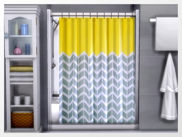 Xtreme Shower Curtains By Oldbox At All 4 Sims 187 Sims 4
