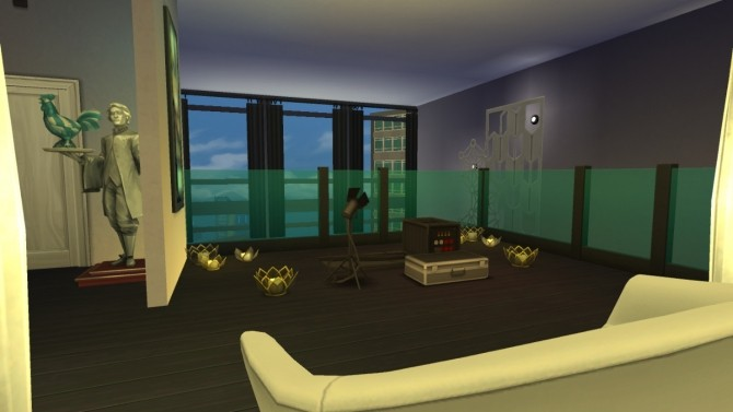 Club 80 Rooftop Lounge By Deontai At Mod The Sims