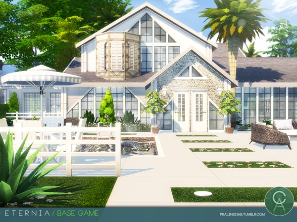 Eternia house by Pralinesims at TSR image 121 Sims 4 Updates