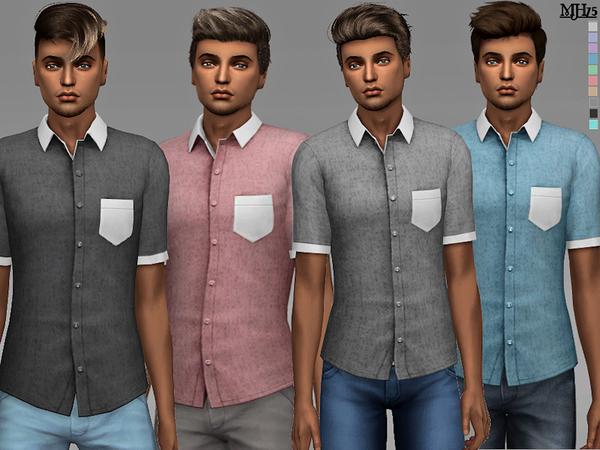 Sims 4 Jason Shirts by Margeh 75 at TSR