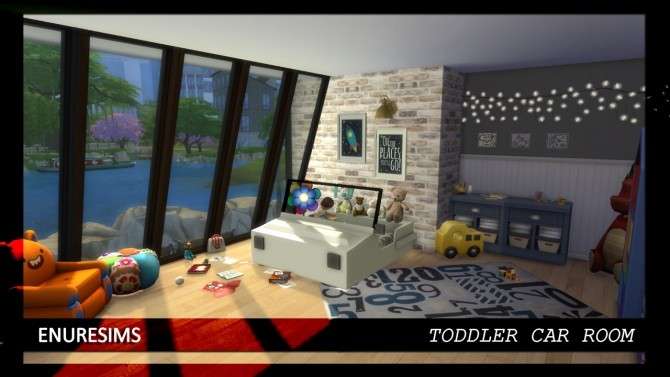 Toddler Car Room at Enure Sims image 1254 670x377 Sims 4 Updates