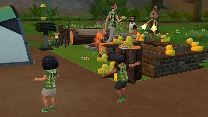 Sims 4 Toddlers Outdoor Station at Hafuhgas Sims Geschichten