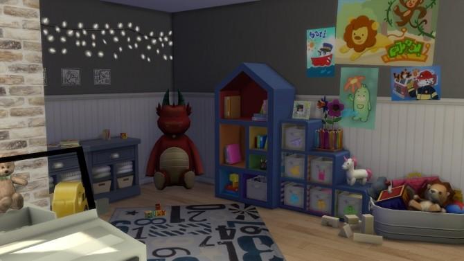 Sims 4 Toddler Car Room at Enure Sims