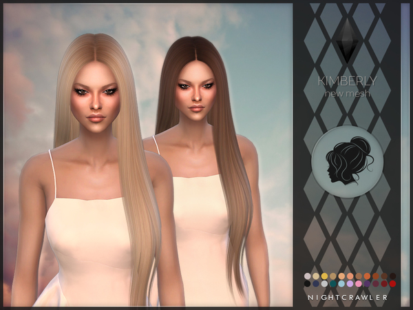 Kimberly hair by Nightcrawler at TSR image 1270 Sims 4 Updates