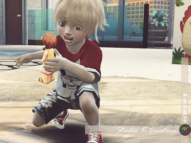 Giruto 26 High neck tee toddler at Studio K Creation image 1286 670x502 Sims 4 Updates