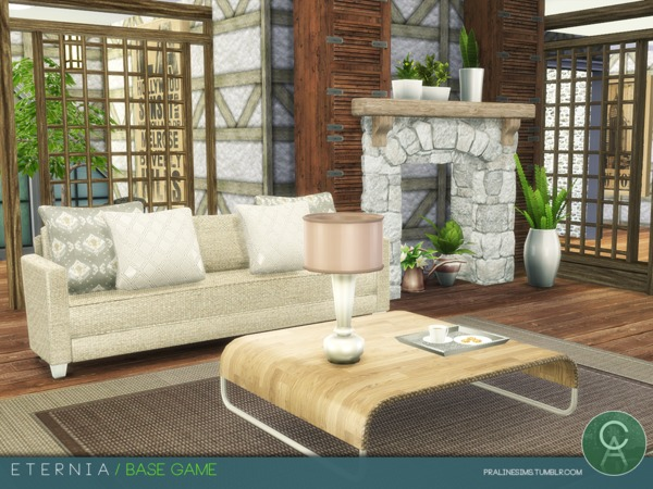 Eternia house by Pralinesims at TSR image 131 Sims 4 Updates