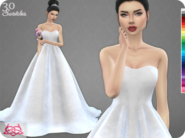 Wedding Dress 7 RECOLOR 1 By Colores Urbanos At TSR