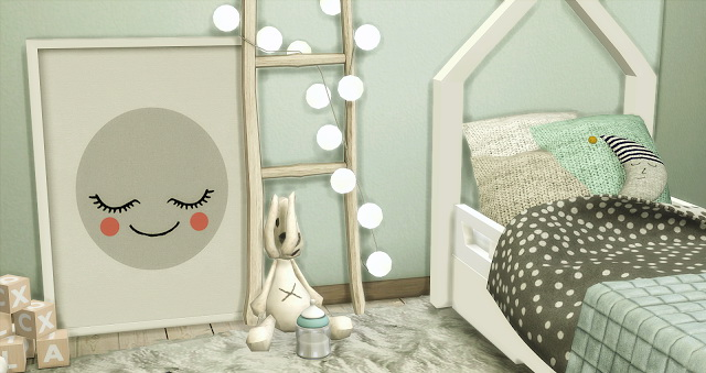 Sims 4 Toddlerroom II at Liney Sims