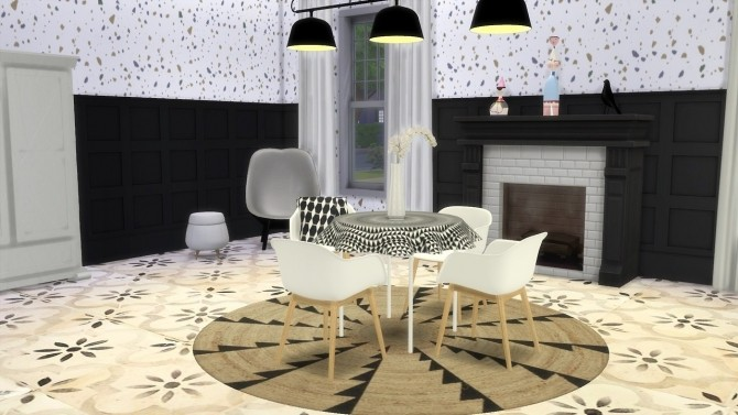 Sims 4 Table Cloth 1961 at Meinkatz Creations