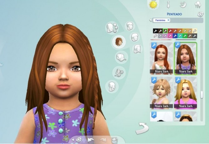 Germania Hairstyle for Toddlers at My Stuff image 1433 670x463 Sims 4 Updates