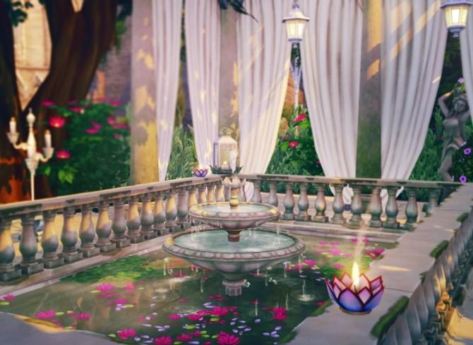 Lotus Pool CC & No CC Versions at Femmeonamissionsims image 1437 670x489 Sims 4 Updates