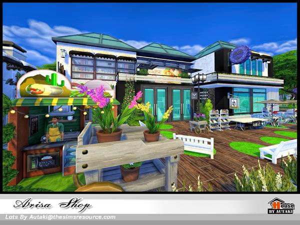 Arisa Shop by autaki at TSR image 1460 Sims 4 Updates