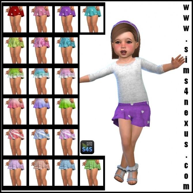 Sweet Summer pants and headband by SamanthaGump at Sims 4 Nexus image 1496 670x670 Sims 4 Updates