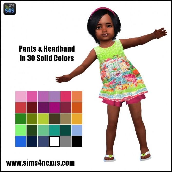 Sweet Summer pants and headband by SamanthaGump at Sims 4 Nexus image 1505 670x670 Sims 4 Updates