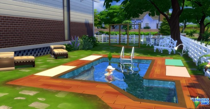 Sims 4 Sans soucis house by Coco Simy at L'UniverSims