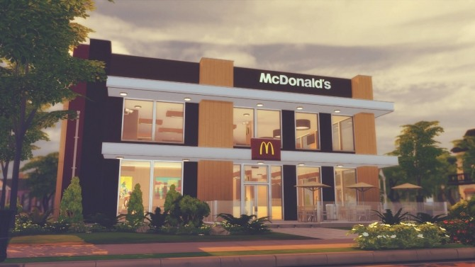 McDonald's Restaurant #3 at RomerJon17 Productions image 156 670x377 Sims 4 Updates