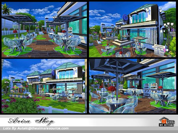 Arisa Shop by autaki at TSR image 1560 Sims 4 Updates