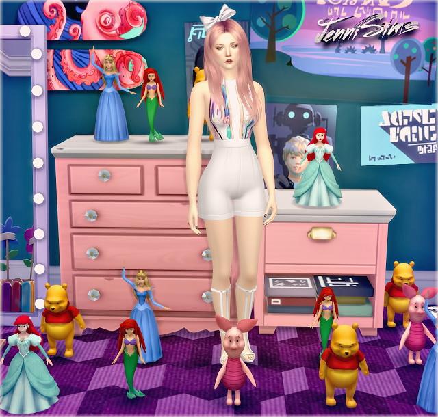 Decoratives Disney Vol 6 (5 items) at Jenni Sims image 15611 Sims 4 Updates