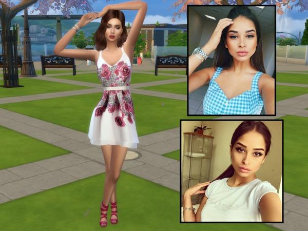 Leyla Johnson by divaka45 at TSR image 1563 Sims 4 Updates