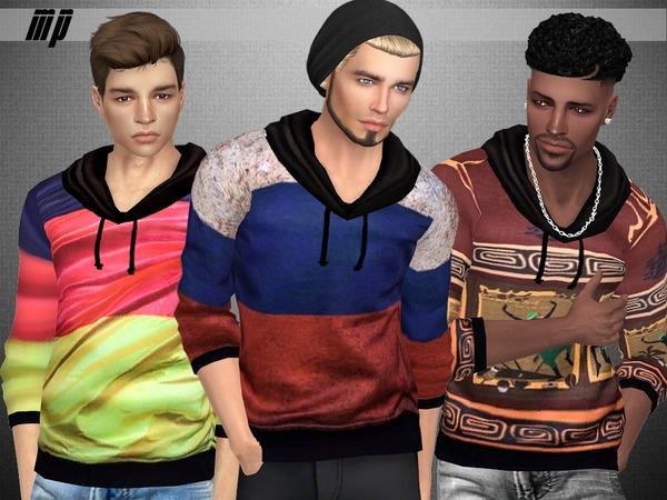 MP Male Fashion Sweatshirt at BTB Sims – MartyP image 1584 Sims 4 Updates