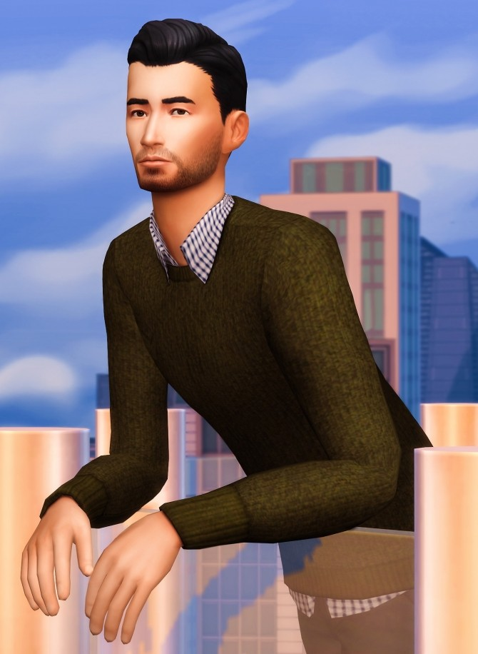 Sims 4 Layered Sweaters at Marvin Sims