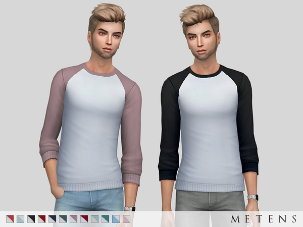 Hollister Sweater by Metens at TSR image 1620 Sims 4 Updates