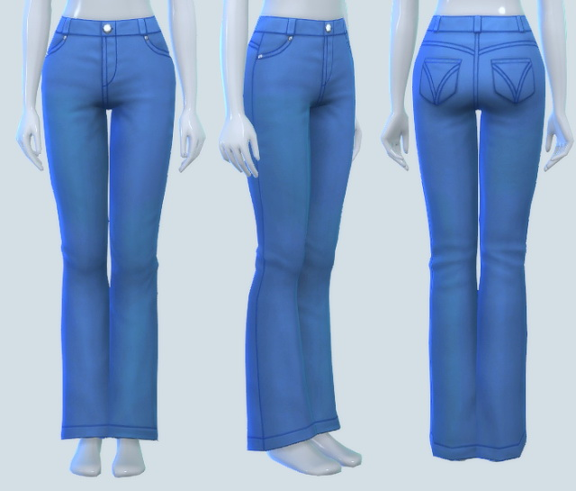 Sims 4 Just Plain Mom Jeans at Pickypikachu