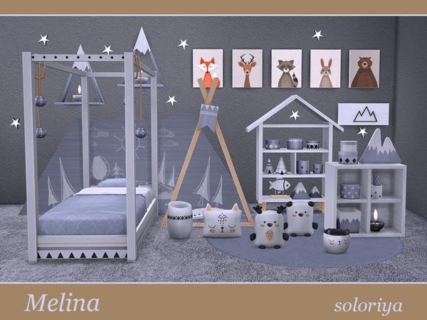 Melina toddler bedrooms by soloriya at TSR image 1629 Sims 4 Updates