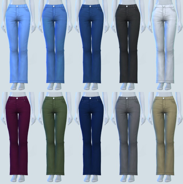 Just Plain Mom Jeans at Pickypikachu image 1631 Sims 4 Updates