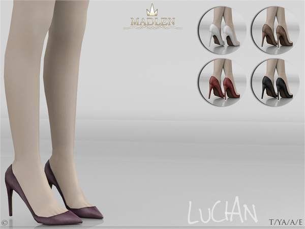 Sims 4 Madlen Lucian Shoes by MJ95 at TSR