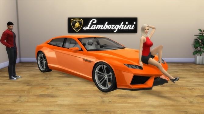 Lamborghini Estoque Concept at LorySims image 1634 670x377 Sims 4 Updates