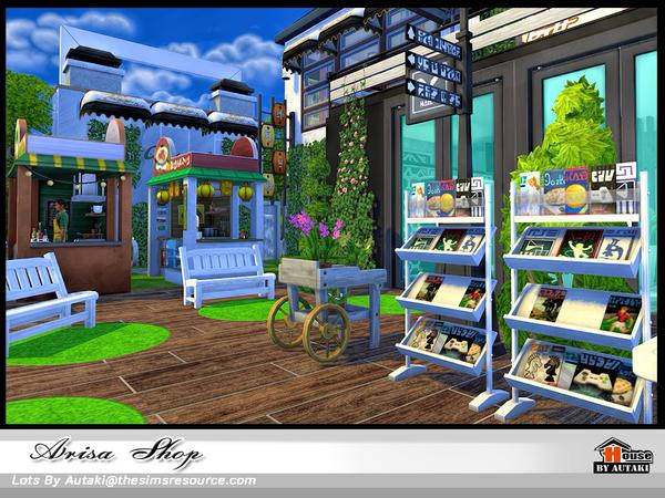 Arisa Shop by autaki at TSR image 1649 Sims 4 Updates
