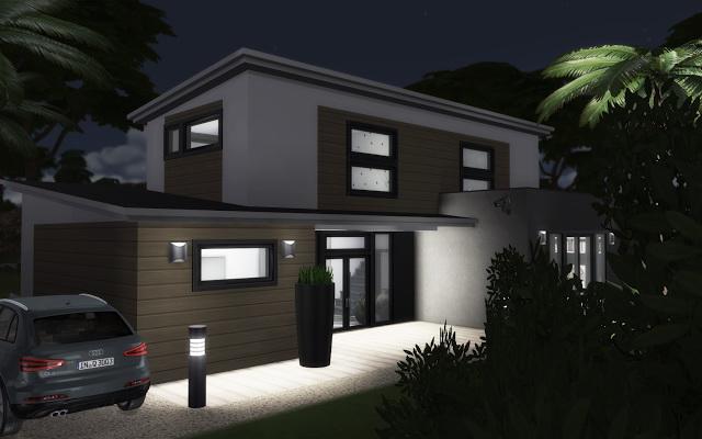 Sims 4 Villa Edincourt at Rabiere Immo Sims