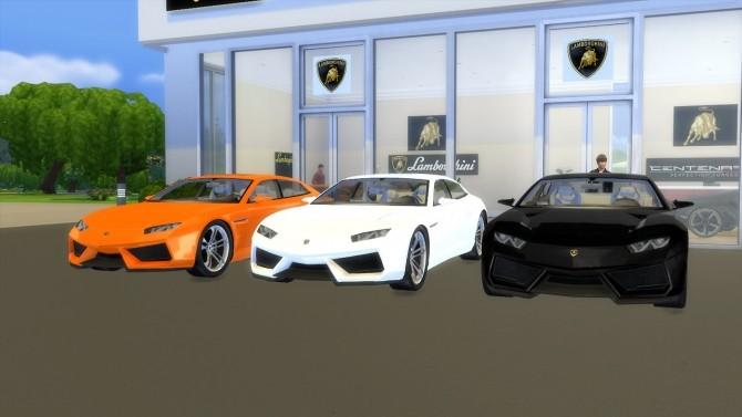 Lamborghini Estoque Concept at LorySims image 1664 670x377 Sims 4 Updates