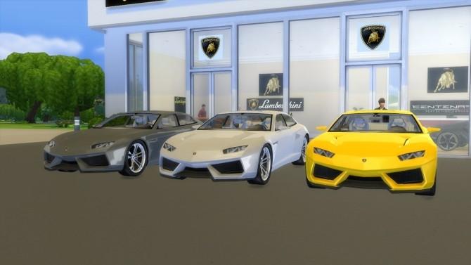 Lamborghini Estoque Concept at LorySims image 1673 670x377 Sims 4 Updates