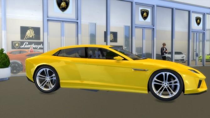 Lamborghini Estoque Concept at LorySims image 1684 670x377 Sims 4 Updates