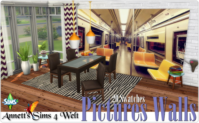 Pictures Walls at Annett's Sims 4 Welt image 1709 Sims 4 Updates