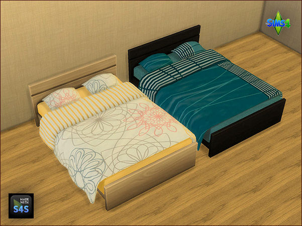 4 sets of beddings by Mabra at Arte Della Vita image 1711 Sims 4 Updates