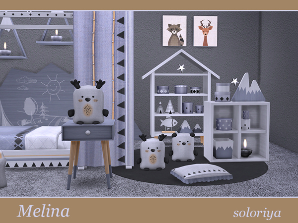 Melina Toddler Bedrooms By Soloriya At Tsr 187 Sims 4 Updates
